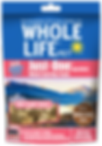 Whole Life Pet Healthy Dog Treats, Human-Grade Salmon, Protein Rich for Training, Picky Eaters, Digestion, Weight Control, Made in the USA