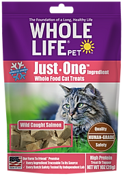 Whole Life Pet Just One Ingredient Salmon Cat Treats
