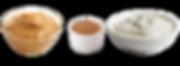 Real Peanut Butter, Ground Flax Seed & Plain Greek Yogurt