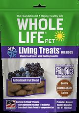 Living Treats Probiotics Fruit Blend for Dogs