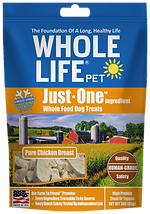 Whole Life Pet Just One Ingredient Chicken Dog Treats