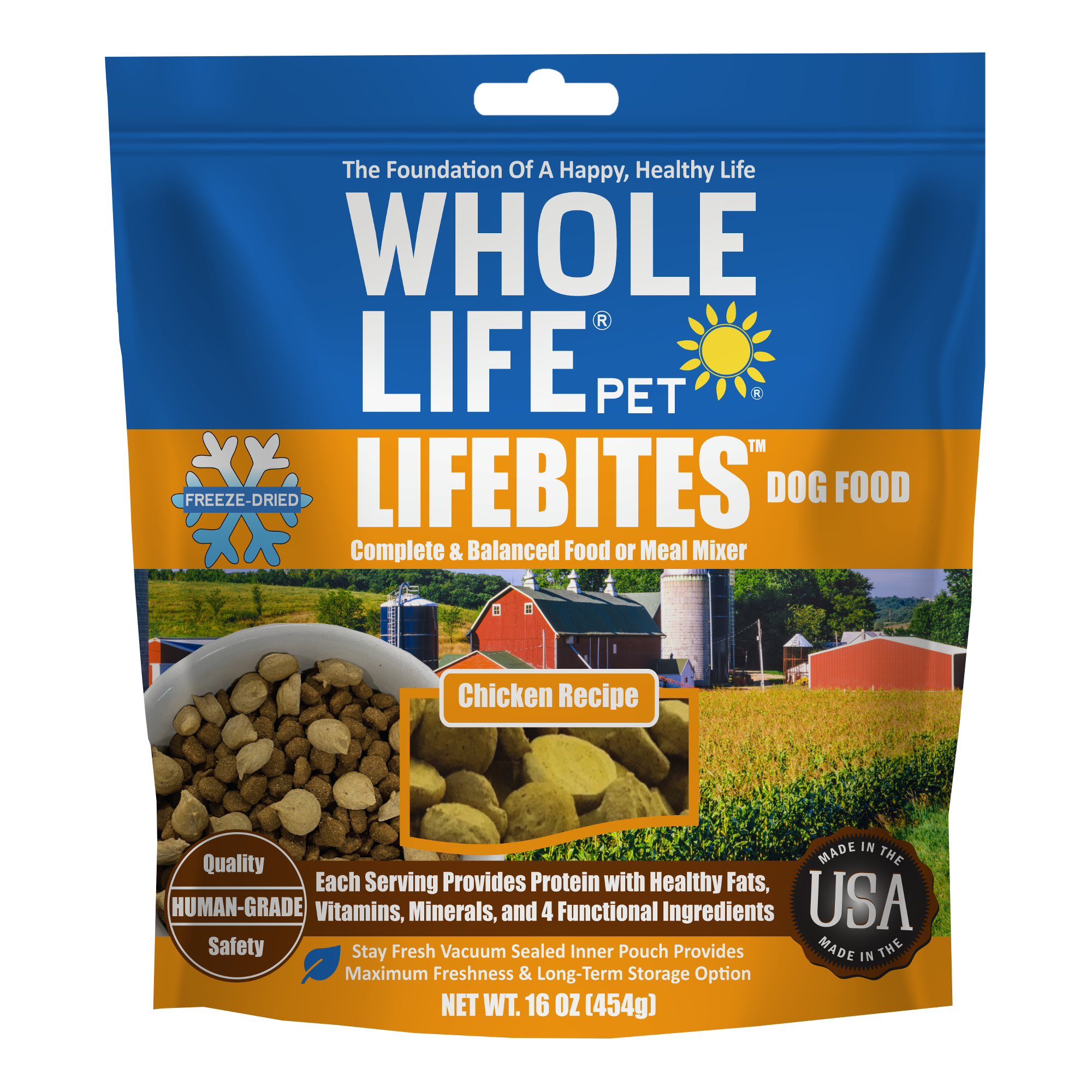LifeBites Chicken Dog New Formula