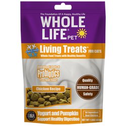 Whole Life Pet Living Treats Chicken Recipe for Cats