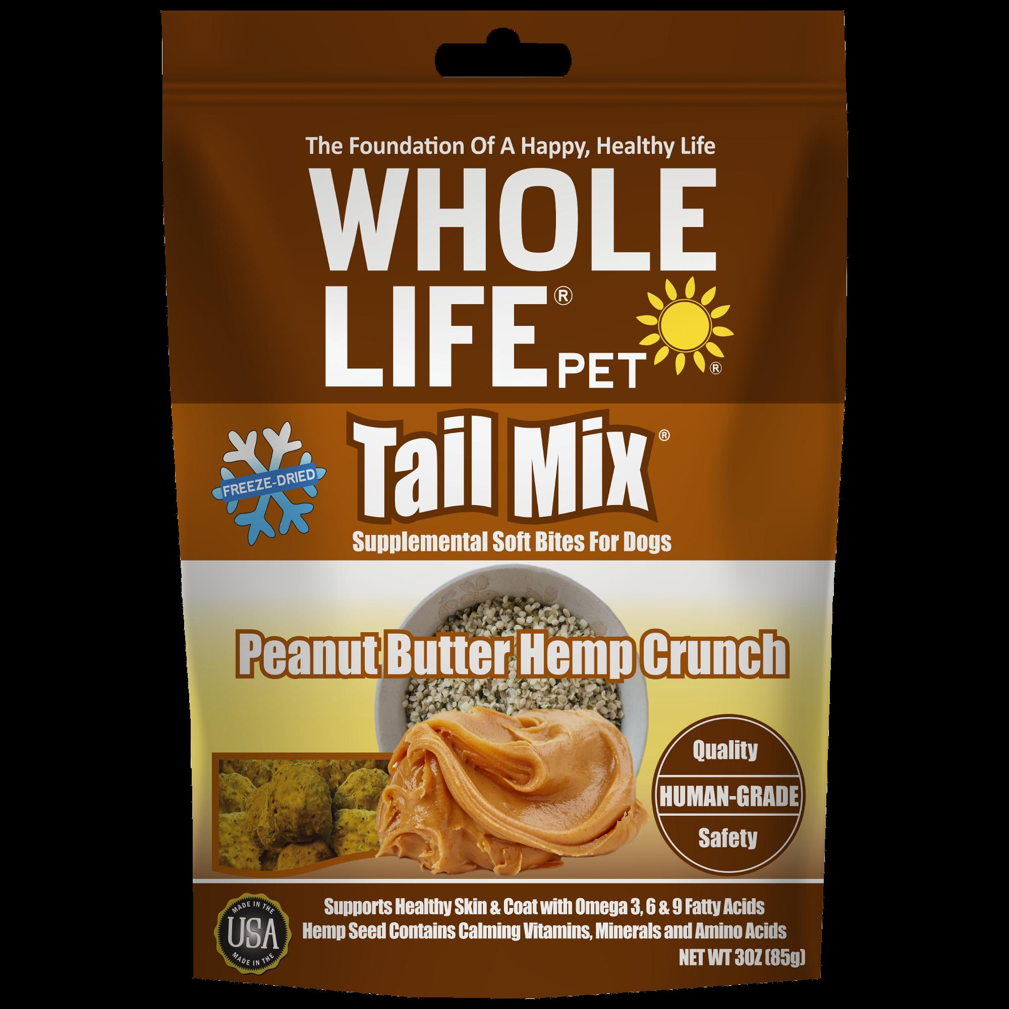 Tail Mix Peanut Butter Hemp 3oz front 20