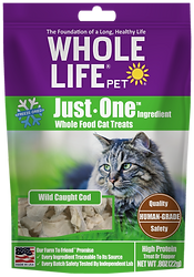 Whole Life Pet Just One Ingredient Cod Cat Treats