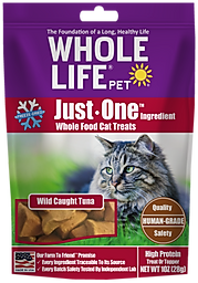 Whole Life Pet Just One Ingredient Tuna Cat Treats