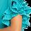 Thumbnail: Pleated short sleeve woven shift dress