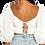 Thumbnail: White Sweetheart Top
