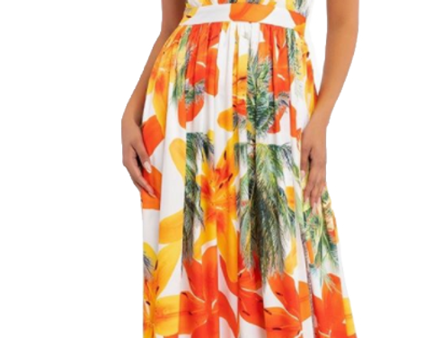 Miami summer maxi dress