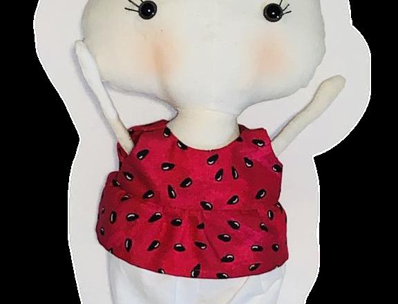Niki doll in red