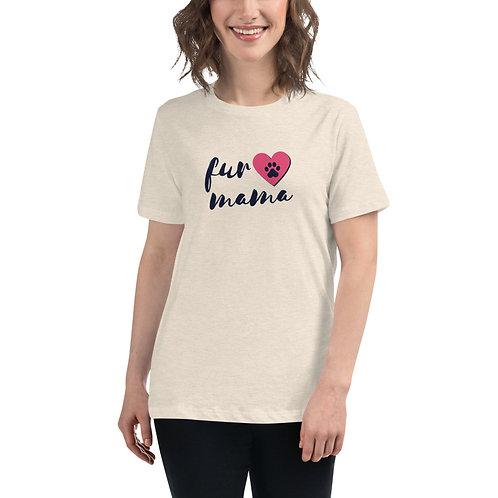 Fur Mama Women's Relaxed T-Shirt
