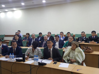 Video Conference between US Federal Judicial Center (FJC) and Tashkent State University of Law