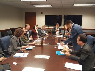 Senior Judicial group from Uzbekistan on a working visit to the United States