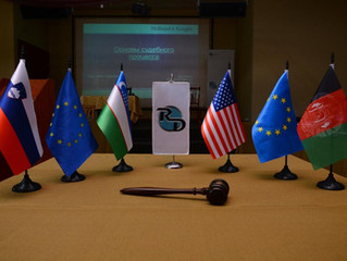 Historic Mock Trial with Uzbek and Afghan lawyers held in Charvaq