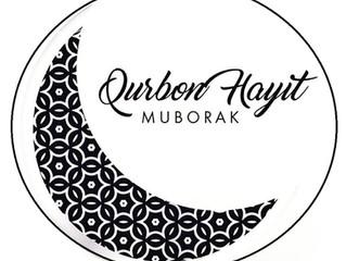 Blessed Qurbon Hayit!