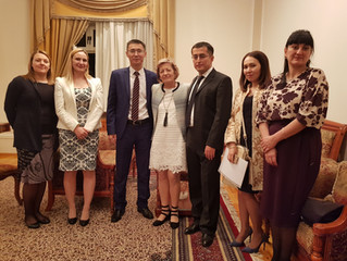 Boston College Law School visits Tashkent State University of Law