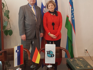 Visit of German Ambassador to the Branch office of Regional Dialogue in Uzbekistan