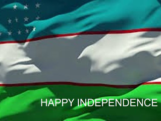 Celebrating Uzbekistan's Independence Day on 1 September