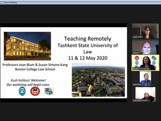 Teaching Remotely Workshop, 11-12 May 2020