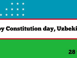 Happy Constitution Day, Uzbekistan!