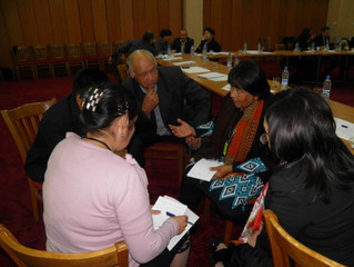 Workshops for NGOs in Tashkent, Samarkand, Bukhara and Urgench