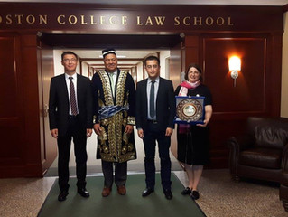 Tashkent State University of Law and Boston College Law School sign Memorandum of Cooperation