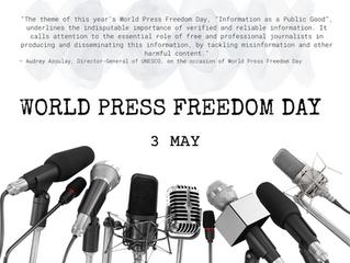 World Press Freedom Day, 3 May