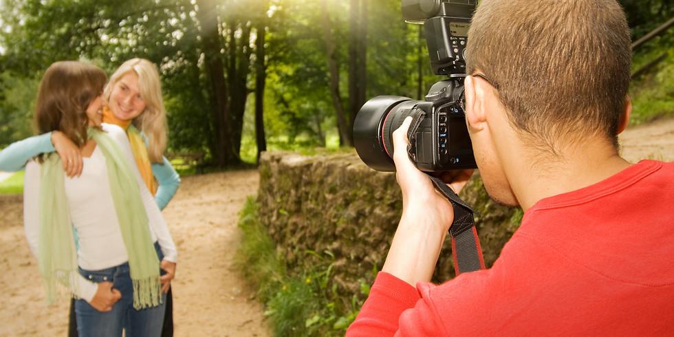 On Camera Flash - Old St. Charles: 2 Models Man/Woman