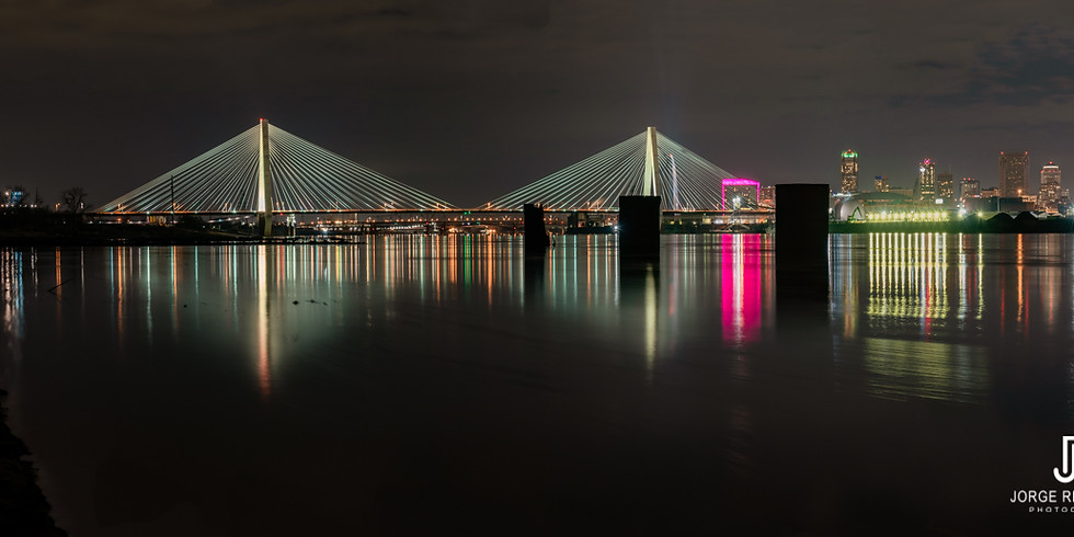 ST. LOUIS - STAN MUSIAL BRIDGE - VERY LIMITED