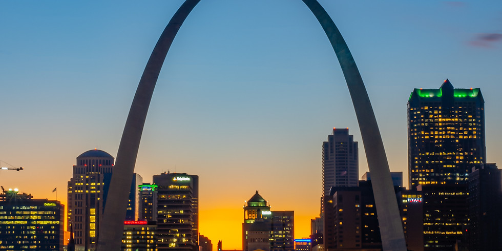 The Arch at dusk! MOVED TO THURSDAY THE 13Th at 5pm
