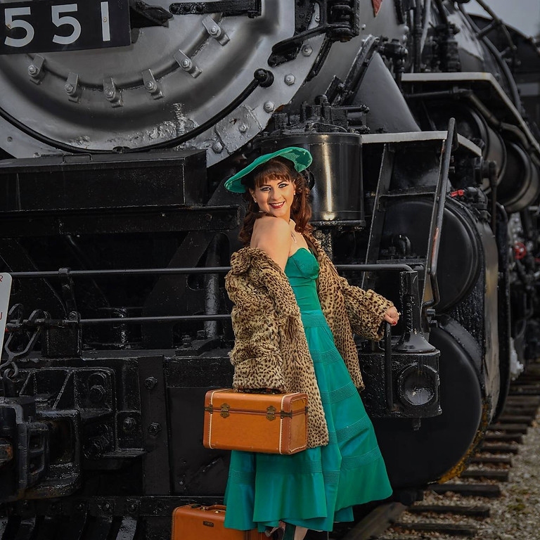 National Museum of Transportation with Model - perfect for your first photo walk!