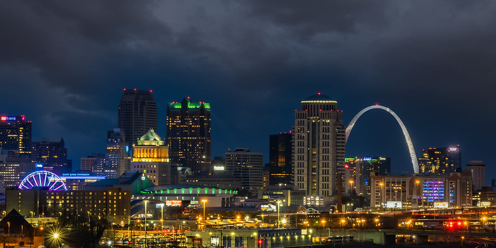 The Arch, downtown view and Ted Drews too!