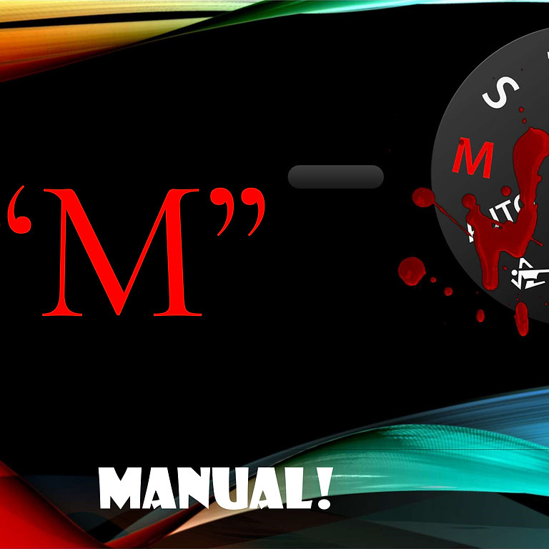 """DIAL """"M"""" FOR MANUAL and the Histogram   - The relationship!"""
