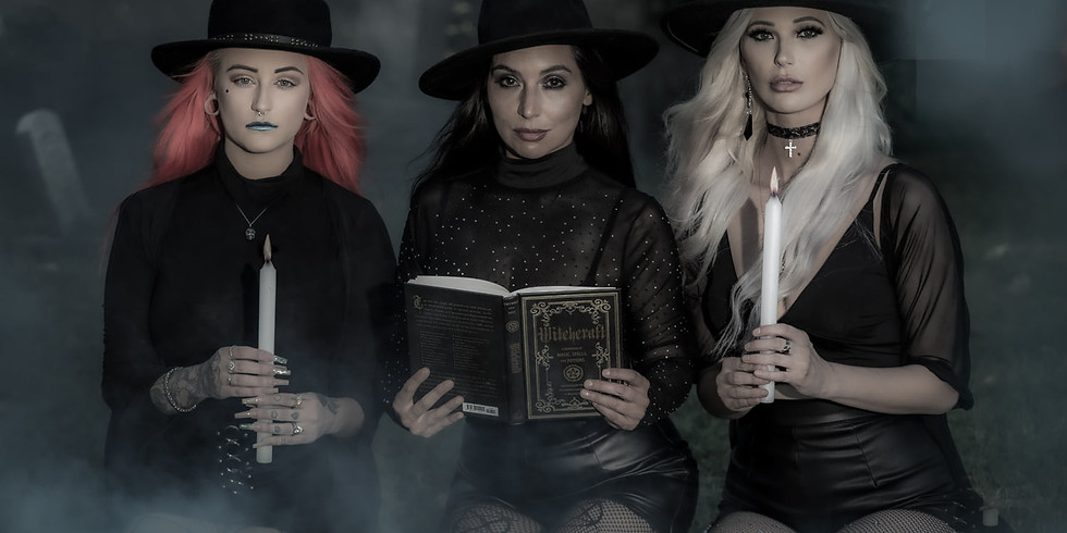 Pre-Halloween...Spooky - Smoky - Witchy - Dark - Bones and more - with 2 to 3 Models