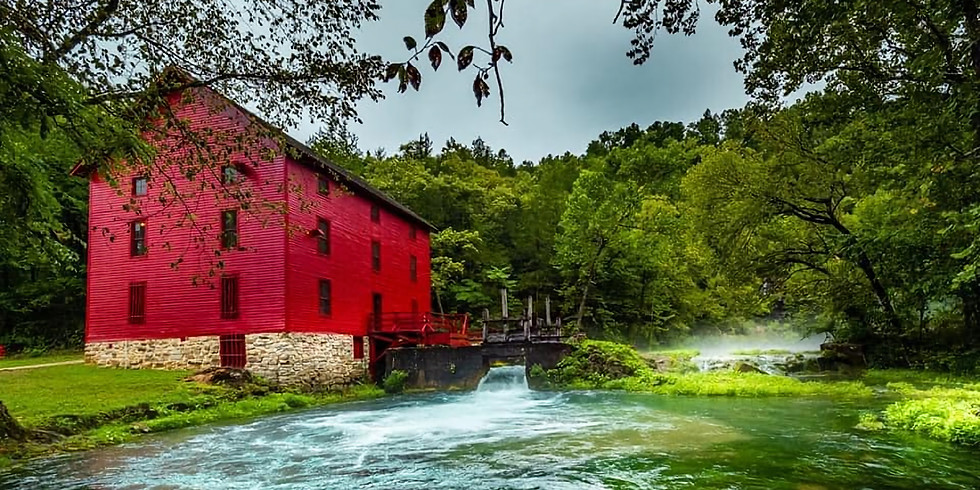 ALLEY SPRINGS, ROCKY FALLS, ROUND SPRINGS, DILLARD MILLS AND MORE - DAY TRIP!!
