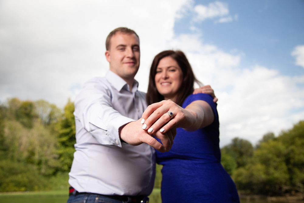 The engagement ring shot, west Sussex wedding photography