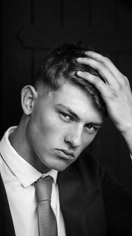 Stunning Headshots in chicheter male model