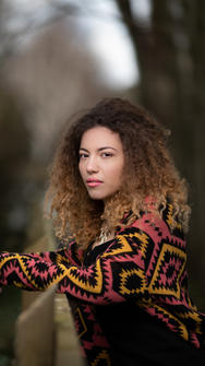 One of a kinf head shots for actress in Chichester
