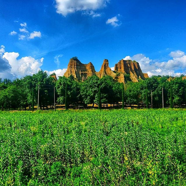 Le Balze di Castelfranco ⛰️🏞️ conosciut