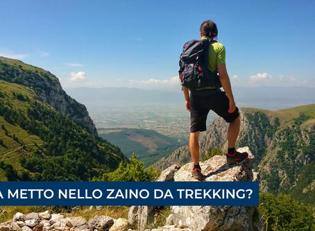 (2) COSA METTO NELLO ZAINO DA TREKKING?