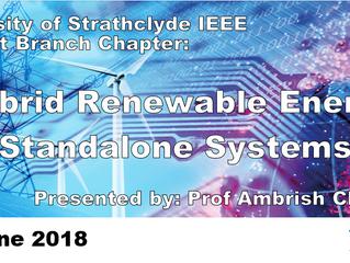 Talk by Dr Ambrish Chandra