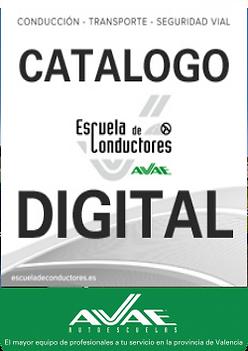 Catálogo Autoescuela en Valencia