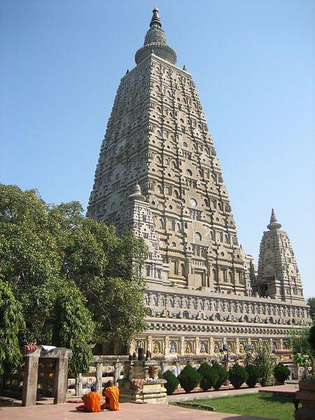 The Mahabodhi Temple of Bodh Gaya