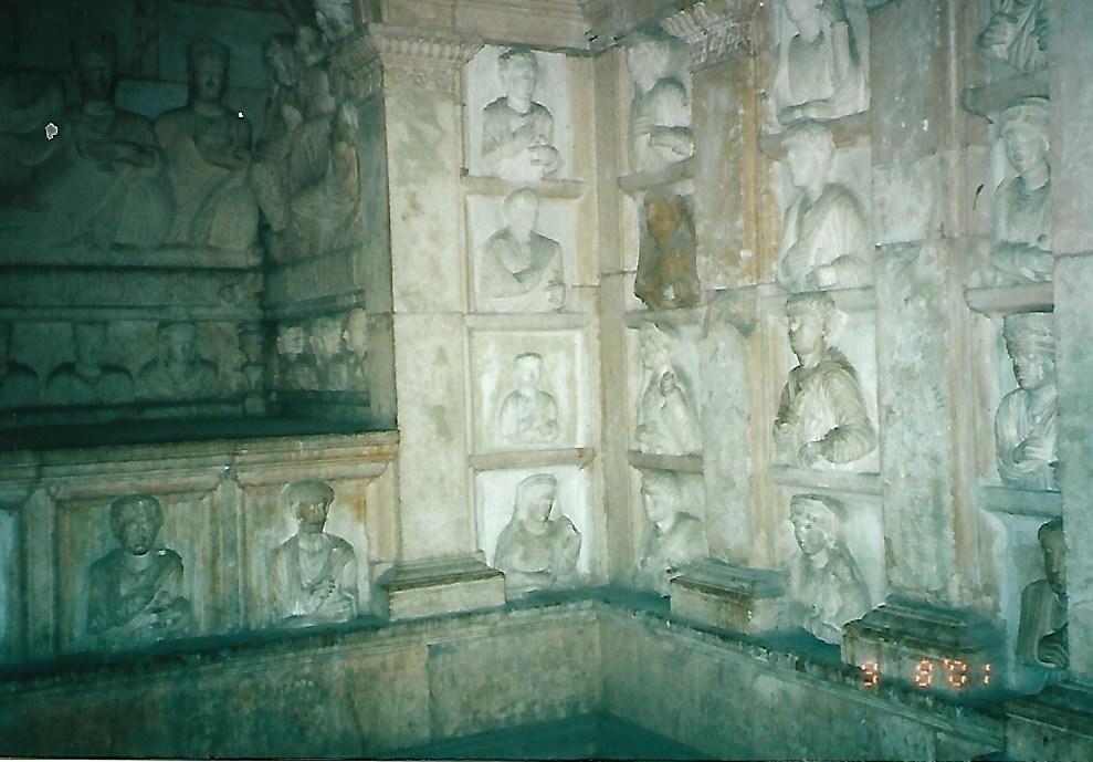 Palmyrene funerary busts