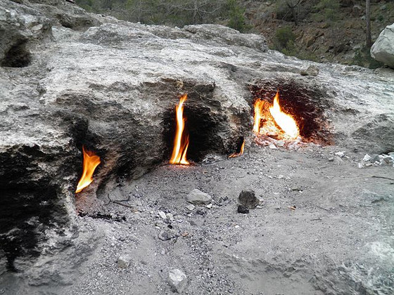 The Eternal Fires of Mount Chimaera