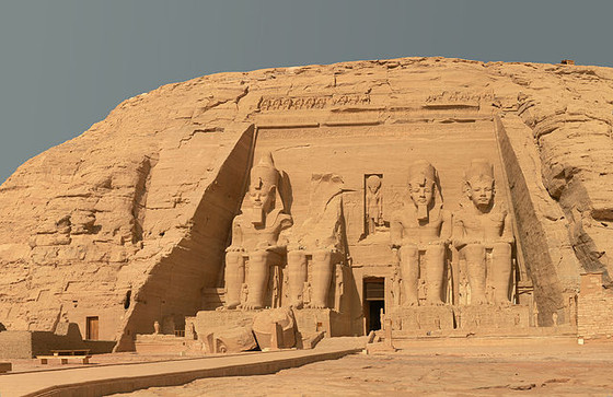 The Temple of Ramesses at Abu Simbel