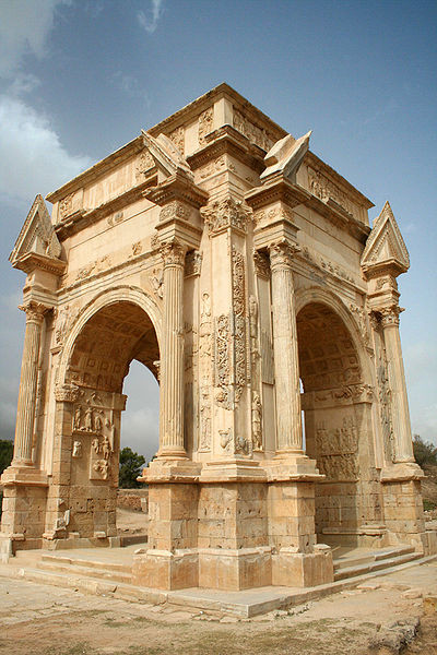 The Ruins of Leptis Magna