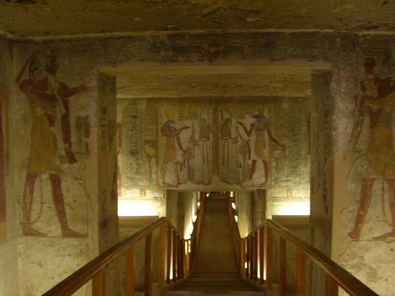 The Tombs of the Valley of the Kings
