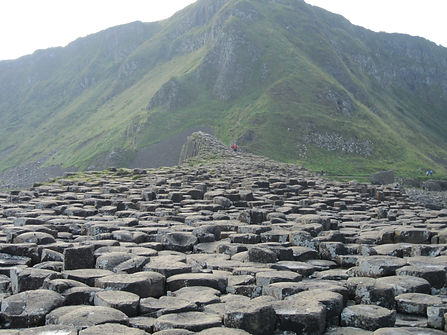 View of Northern Ireland from the Giant's Causeway
