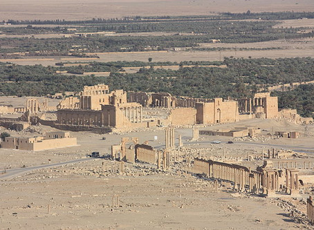 The Temple of Bel at Palmyra